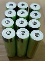 12 Pcs Genuine Protected Panasonic Ncr18650b 3400mah Li-ion Battery Usa Seller