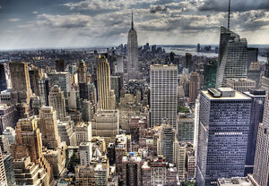 Image Is Loading WALLPAPER MURAL PHOTO New York Skyline WALL DECOR  Part 16