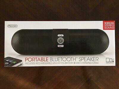 Sentry Portable Bluetooth Speaker w /Mic SPBT3 Audio Player Docks ...