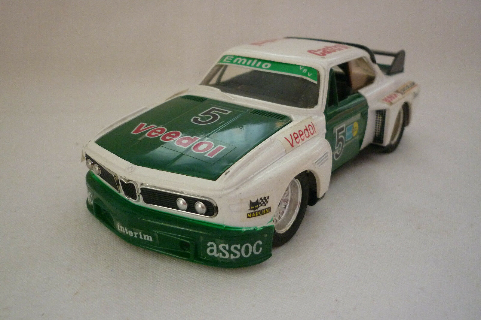 Eidai Grip - Metal Model - BMW 3.0 Csl - 1 24 1 28 - (5.DIV-46)