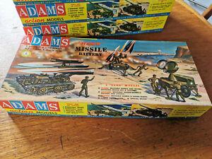 """Vintage NOS """"HAWK"""" Missile Battery, Adams K154-198 ( 1st. ed.1958)"""