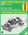 Mercedes Benz 280 (Series 123) 1977-1981 Owner's Workshop Manual by A. K. Legg (Paperback, 1988)