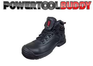 Warrior Unisex Negro botas De Seguridad Para excursionista impermeable MMB43