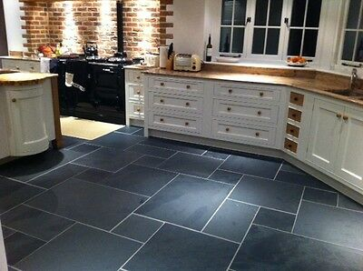 Calibrated Brazilian Black Slate Tile