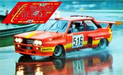 Bello Calcas Abarth 031 Giro Italia 1975 Pianta Fiat 131 Slot Decals Elegante Nell'Odore
