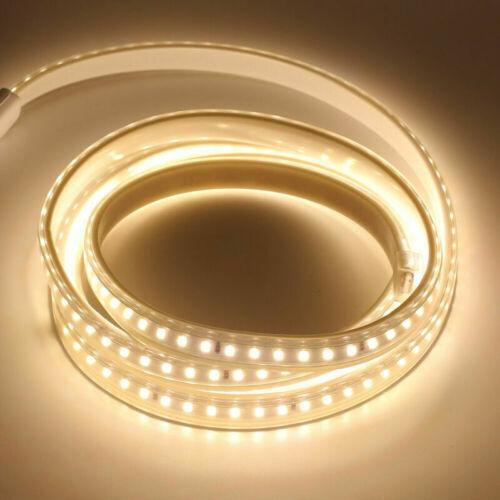 220V LED Stripe Licht Streifen Wasserdicht Lichtband Küchen Unterbauleuchten