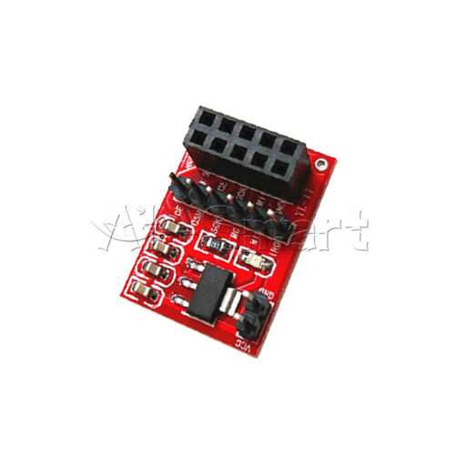 NRF24L01 2.4GHz RF Wireless Transceiver 8//10Pin Socket Adapter plate Board