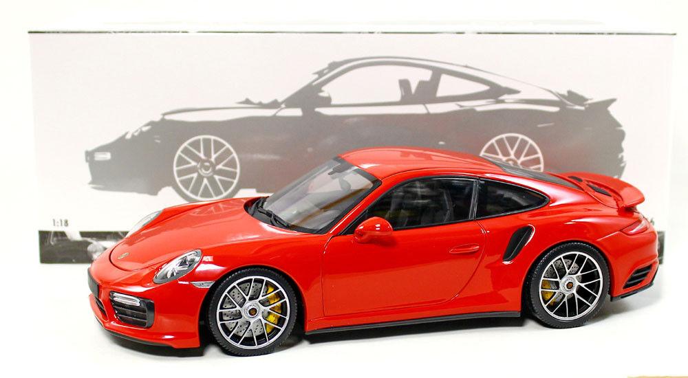 Minichamps 110067122 Porsche 911 Turbo S 2016 Red 1 1 1 18 Scale Diecast 46ad51