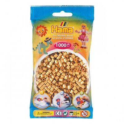 HAMA midi 207-61 Bügelperlen 1000 Stk. GOLD