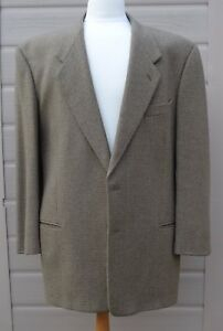 Armani Giorgio giacca giacca e taglia Chest in Splendida lana vintage 44 qwtA0E