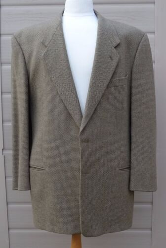 Splendida vintage 44 giacca in e lana Chest Giorgio giacca Armani taglia aranxzHq
