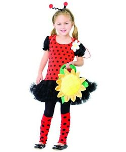 DAISY-BUG-LADYBIRD-INSECT-AGE-3-4-COSTUME-LEG-AVENUE-BUGS-LIFE-BOOK-DAY