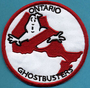 Ontario-Canada-Ghostbusters-No-Ghost-Embroidered-Iron-On-Patch