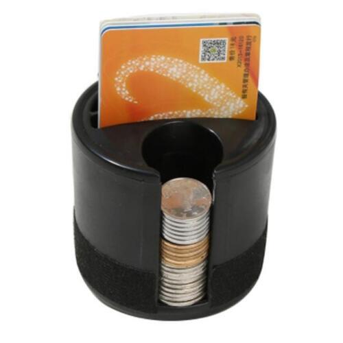 Car Catcher Coin Box Right Side Seat Gap Storage Pocket Organizer Cup Holder 6A