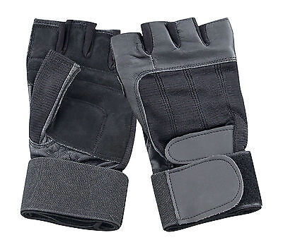 Zielsetzung Weight Lifting Leather Gloves Gym Training Workout Driving Gloves Bus Driver Novel (In) Design;