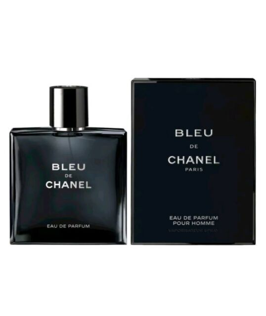 Bleu de Chanel 100ML Edp POUR HOMME New   Sealed Free shipping 100%  Authentic f60237b46b6