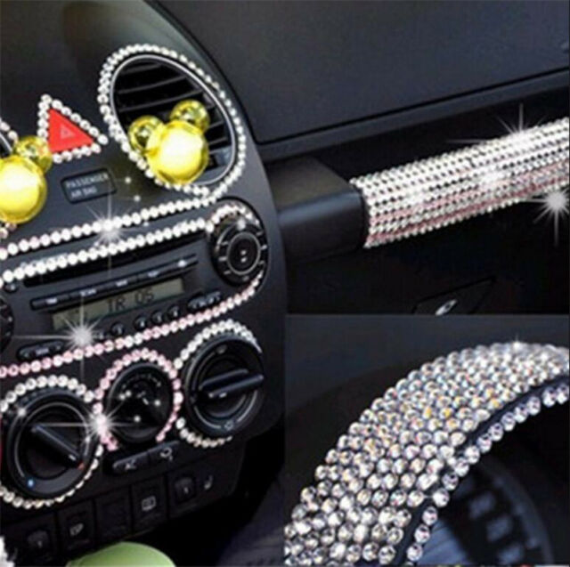837pcs DIY 3mm Charm Rhinestone Car Styling Sticker Decor Decal Accessories Hot