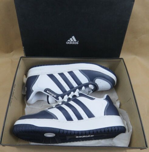 ADIDAS BTB Low Basketball Shoes 549111 Blue White New Navy Men's Size 6.5 NIB