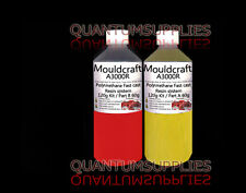 MOULDCRAFT A3000R 120g RED FAST CAST Polyurethane Liquid Plastic casting Resin