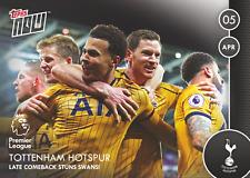 Topps ahora! 82 Premier League 2016/2017 Tottenham Hotspurs Spurs-abril de 05