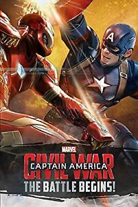 Marvel Captain America Civil War Book of the Film, Marvel, Used; Good Book