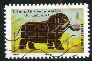 Alerte France Autoadhesif Oblitere N° 1457 Le Gout // Le Chocolat
