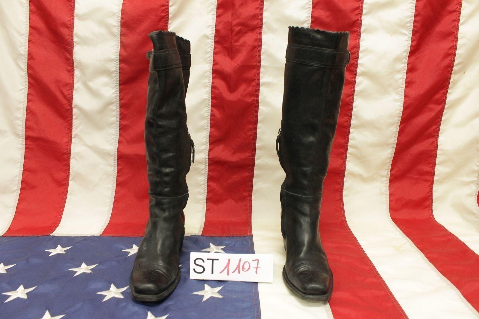 Stivali boot Ermanno Scervino (Cod.ST1107) N.36 cowboy western biker donna usato