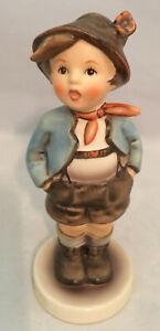 Vintage-Goebel-Hummell-TMK2-95-034-Dorfheld-Brother-Gamin-Porcelain-Figurine-w-box