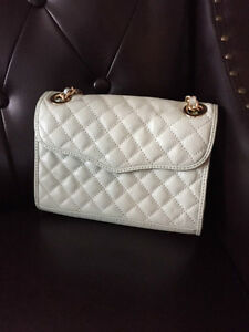 Rebecca Minkoff Leather Affair Quilted Crossbody Bag Light