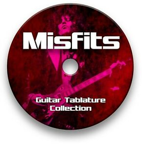 MISFITS-PUNK-ROCK-GUITAR-TAB-TABLATURE-SONG-BOOK-TUITION-SOFTWARE-CD