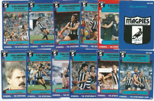 1990 Stimorol COLLINGWOOD Team Set