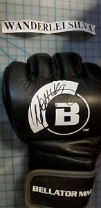 Wanderlei silva autographed signed Bellator  MMA Glove