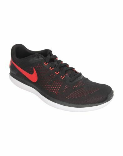 Nike Running NIB Mens 11.5 Flex 16 RN Running Nike Shoe Black/University Red/Ember Glow/White c75ec0
