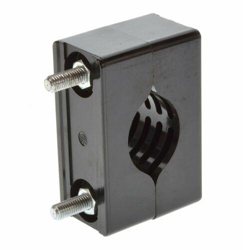 Ammortizzazione blocco di bloccaggio per C-profilo Cavo Morsetto fino a ca 43mm