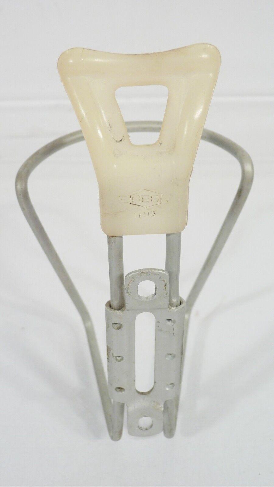 REG Italy Flaschenhalter KULT MTB Rennrad CROSS CROSS CROSS 45g 80/90er Vintage plata R.E.G 14eaca