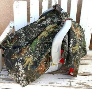 Mossy Oak And You Choose The Color Infant Car Seat Canopy Cover Ebay