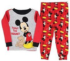 Disney Baby Mickey Mouse Infant Toddler Pajama 2 piece Set Boy LS NWT  12m,24m