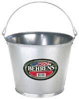 Behrens 1205 5 Quart Galvanized Steel Metal Water Pail Bucket W Handle