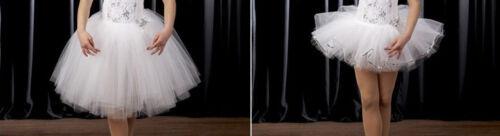 Adult Medium Ballet Dance Costume Accessory ROMANTIC OR SHORT TUTU SKIRT ONLY