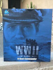 DID WWII German U Boat Commander Lehmann D80148 Box Figure 1/6 Action Fig Toys