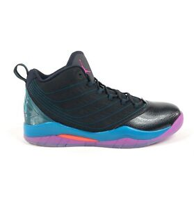 Nike-Air-Jordan-Velocity-Black-Pink-Teal-Mens-11-5-Basketball-Shoes-688975-025
