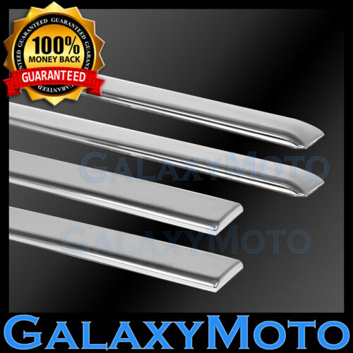 08-10 Ford Super Duty 4 Door Front+Rear Replacement Chrome Body Side Molding 4pc