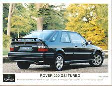 Rover 220 GSi Turbo Original 1993 colour Press Photograph No. RH/1193/382