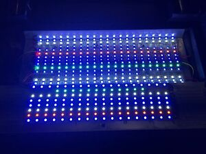 full spectrum 100w led retrofit upgrade oceanic biocube 29 g riff aquarium licht ebay. Black Bedroom Furniture Sets. Home Design Ideas