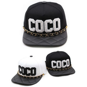 2886ea0c76b Image is loading Unisex-Mens-Womens-Teamlife-COCO-Chain-Hiphop-Casual-