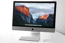 "RAZOR 27"" Apple iMac 3.4 - 3.8 GHz i5 1TB HD 24GB RAM 2GB NVIDIA GFX + AppleCare"