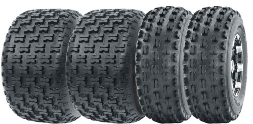 Full Set Wanda ATV tires 21x8-9 front /& 22x10-10 Rear 4PR Sport