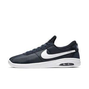 Nike SB - Air Max Bruin Vapor  AA4257-400 - Mens Skate Shoes  Obsidian / White