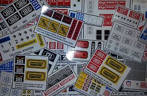 Custom-Lego-Sticker-Stickers-vintage-sets-Train-before-1981