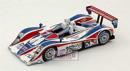 Mg Lola #25 Le Mans 2005 1:43 Spark Sp0083 Modellino